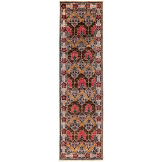 "Suzani, Hand Knotted Runner - 2'7"" X 9'10"""