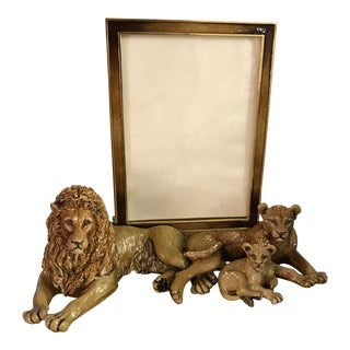 Jay Strong Water Lion Family Picture Frame