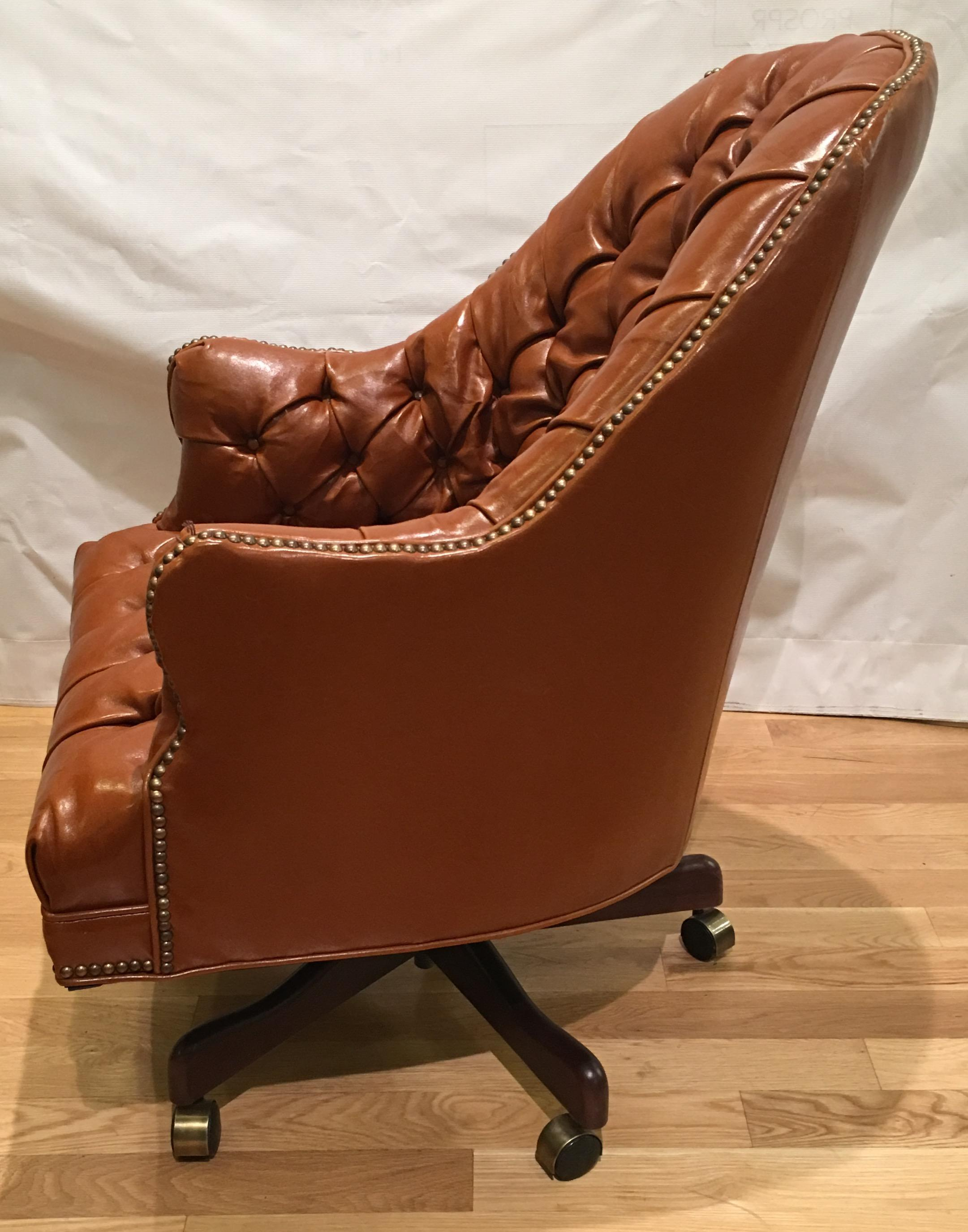 Old Hickory Tannery Leather Chesterfield Desk Chair Chairish : b12fc84b 3de1 440d 86e5 b4b1b3de2903aspectfitampwidth640ampheight640 Chesterfield <strong>Loveseat Sale</strong> from www.chairish.com size 640 x 640 jpeg 43kB