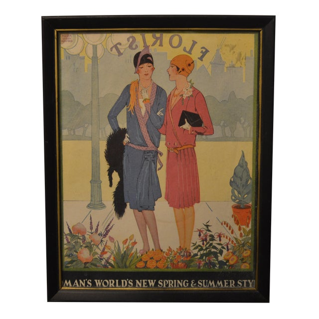 1920's Fashion Plate - Image 1 of 4
