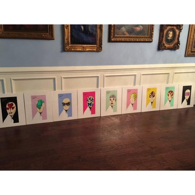 "Prada ""Head Concepts"" Museum Prints - Set of 9 - Image 2 of 11"