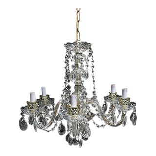 Depression Era Glass Chandelier