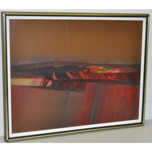 Don Clausen Abstract Expressionist Painting C.1980 - Image 4 of 7