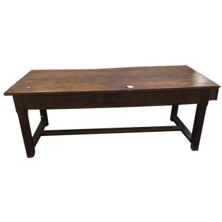 French Antique Farm Table
