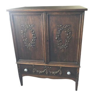 Sligh Vintage Hand Carved Armoire or Dresser