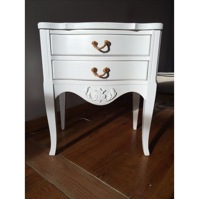 Vintage French Country Nightstand - Image 2 of 5