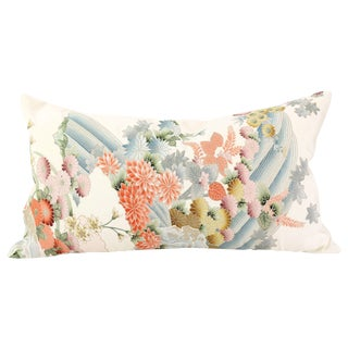 Vintage Kimono Lumbar Pillow
