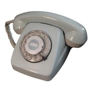 1960s Baby Blue Phone