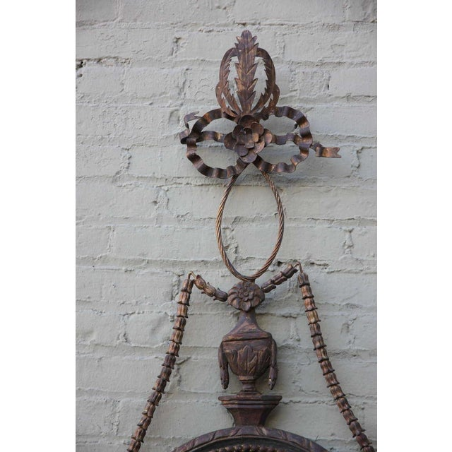 Image of Pair of Gilt Wood Carved Italian Mirrors