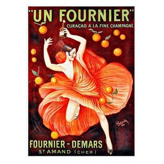 Framed French Art Deco Ad Poster - Un Fournier