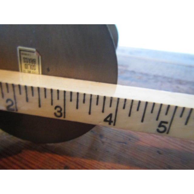 Mid-Century Modern Brass Hourglass Sand Timer - Image 6 of 7