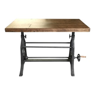 Reclaimed Wood Architectural Table