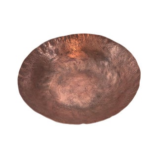 Hammered Copper Center Bowl