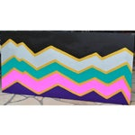 """Image of """"Zig Zag"""" Abstract Painting by Mistie House"""