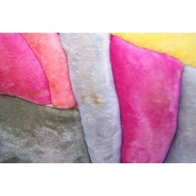 Modern Velvet Wall Sculpture by Bill Godfrey - Image 10 of 10