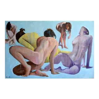 Nudes in Silence Painting