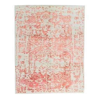 Contemporary Hand Woven Rug - 7′9″ × 9′10″