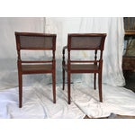 Image of Kindel Regency Style Armchairs - A Pair