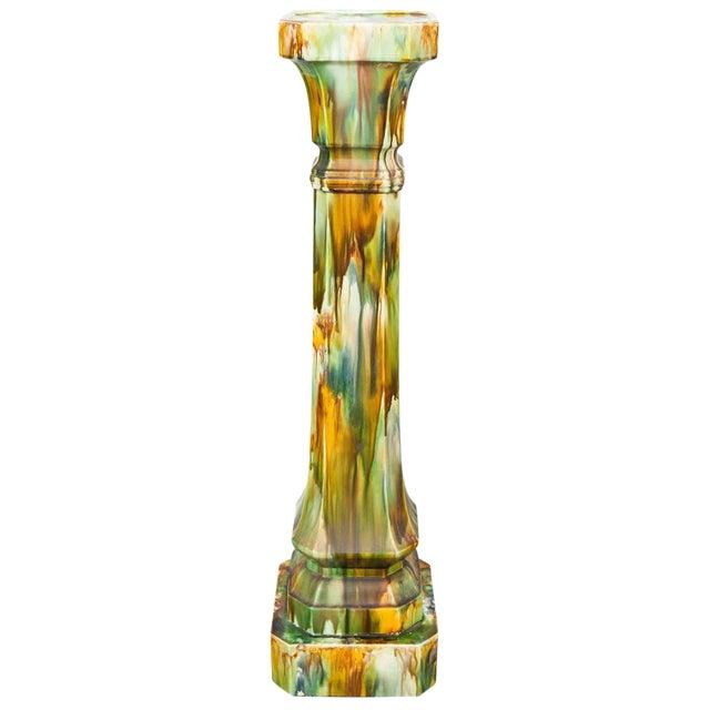Earthenware Pedestal - Image 1 of 5