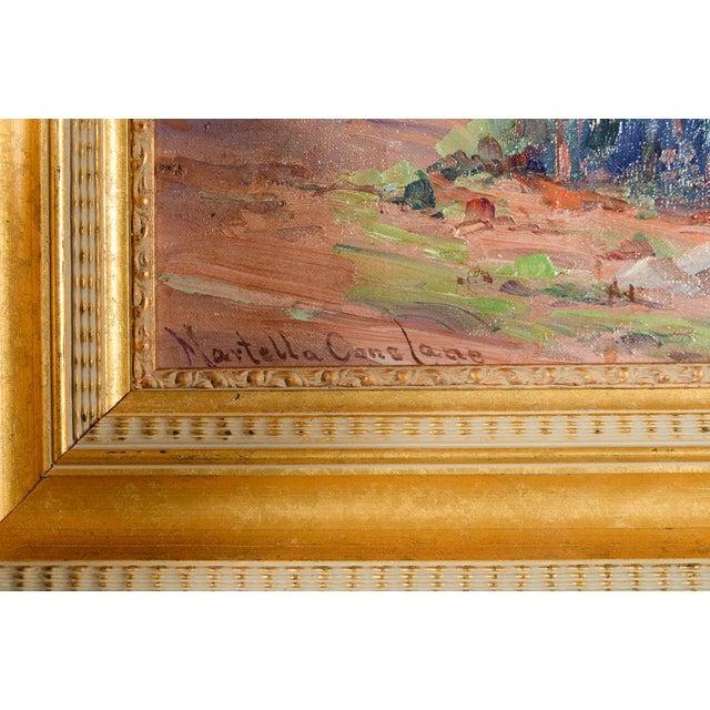 Martella Cone Lane -California Landscape -Oil Painting -Impressionist C.1920s - Image 6 of 10