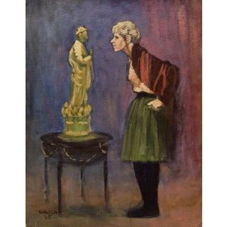 Ehrlich Painting - The Critic, 1965