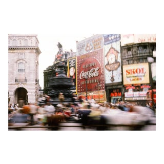 London in Motion Vintage 35mm Film Slide Photograph (Circa 1960s)