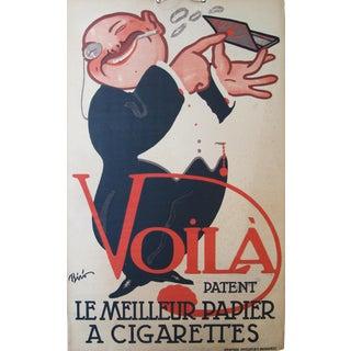 Original 1920s Hungarian Art Deco Lifestyle Poster, Biro