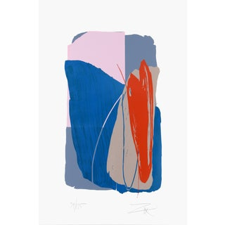 Larry Zox, Untitled 4, Serigraph