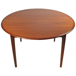 Svend Madsen Danish Modern Extension Dining Table