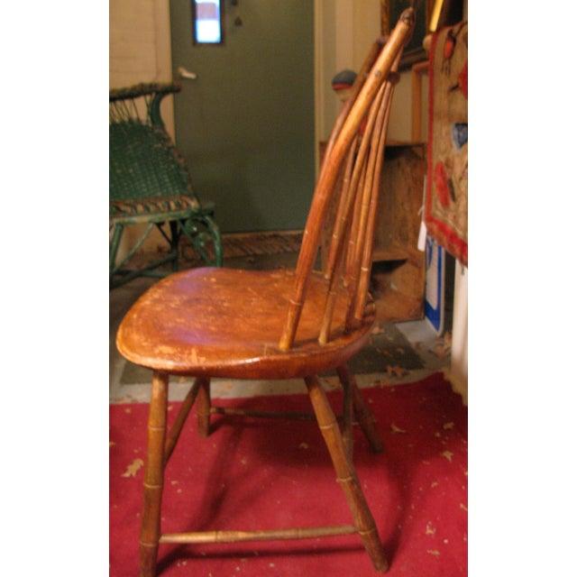 Antique Signed Samuel Gragg Windsor Chair - Image 10 of 11