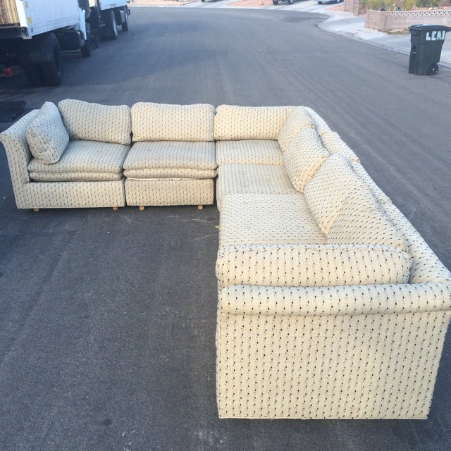 Sherrill Furniture Contemporary Six-Part Sectional - Image 10 of 10