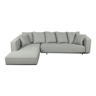 Modern Gray Sectional Sofa