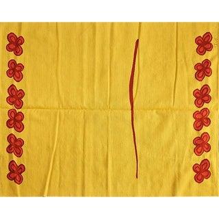 """Tournesol"" Flatweave Wool Area Rug - 6′1″ × 7′8″"