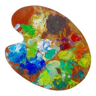French Artist Oil Palette