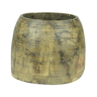 Tribal Wooden Pot