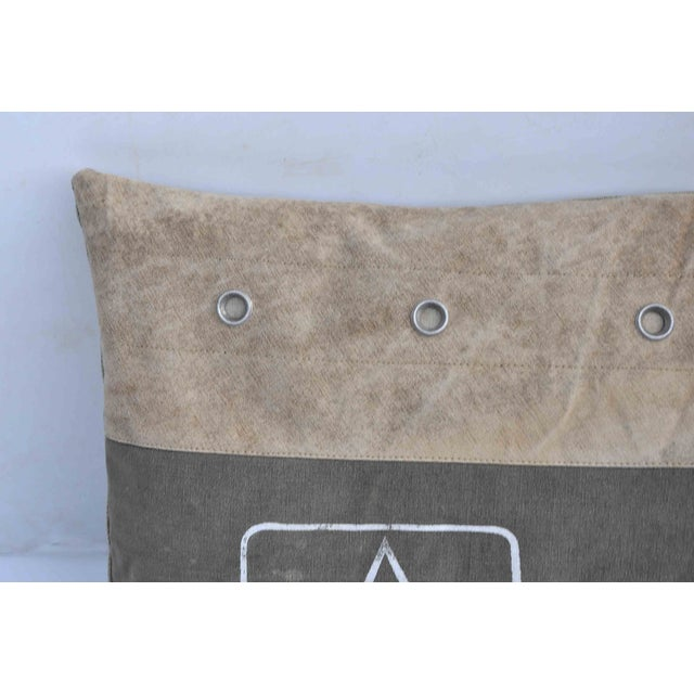 Image of Army Upcycled Pillow