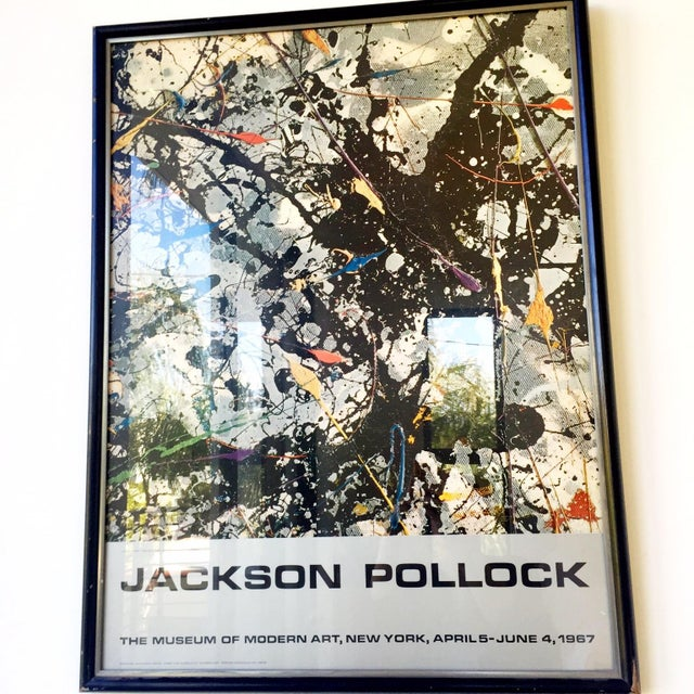 Jackson Pollock Moma Exhibition Poster - Image 2 of 4
