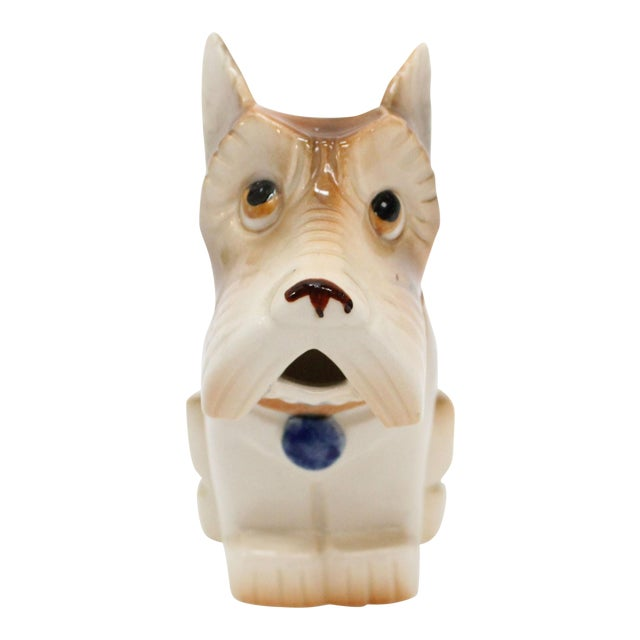 Image of Occupied Japan Ceramic Terrier Creamer