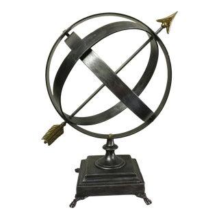 Metal Gyroscope Sculpture