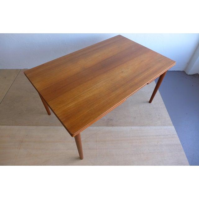 Hans Wegner Draw Leaf Teak Dining Table - Image 8 of 9