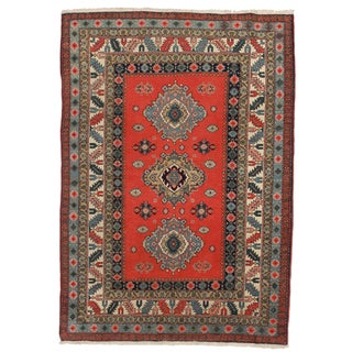 RugsinDallas Antique Persian Ardebil Wool Rug - 3′3″ × 4′4″