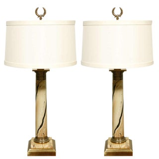 1920's French Table Lamps - A Pair