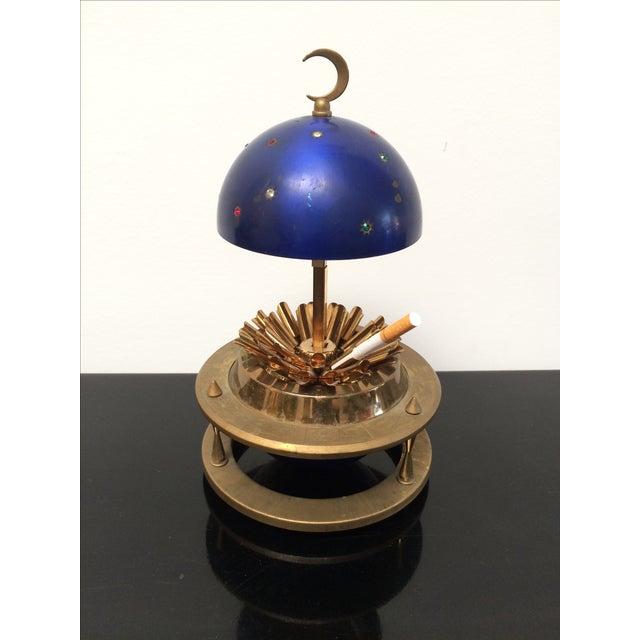 Blue Zodiac Globe Pop-Up Cigarette Holder - Image 6 of 8