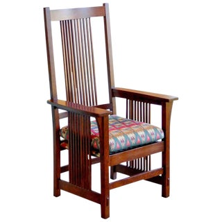 Spindle Armchair by L. & j.g. Stickley