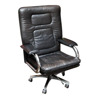 Pace Collection Mariani Leather Executive Chair