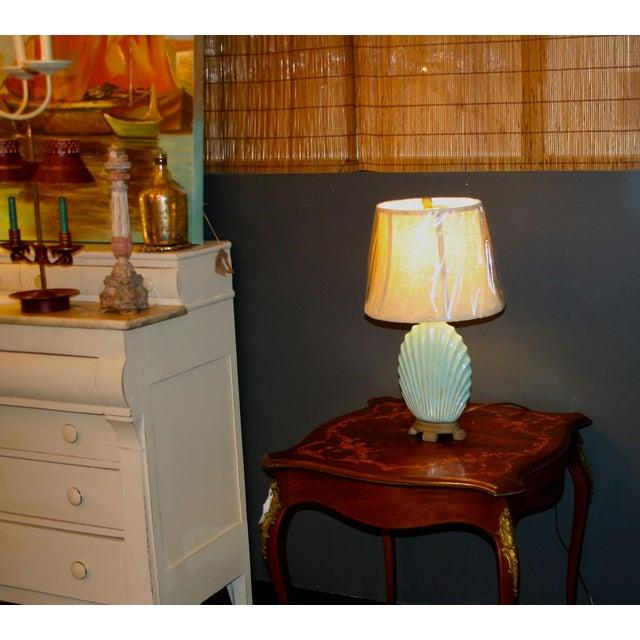 Scallop Seashell Lamp - Image 5 of 7