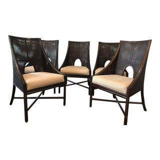 Barbara Barry for McGuire Dining Chairs - Set of 5