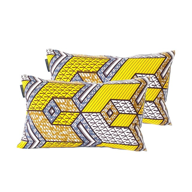 N'djamena Rectangular Pillows - Pair - Image 1 of 3