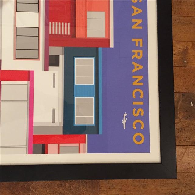 San Francisco Modern Painted Ladies-Print Only - Image 5 of 5