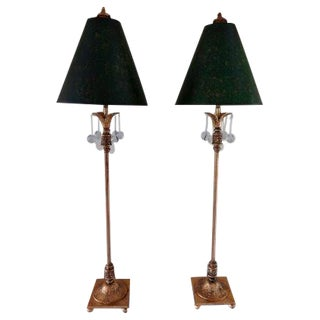 Buffet Table Lamps - A Pair